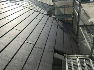 屋根葺き替えリフォーム 雨漏れ、地震での躯体の心配を解消