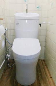 「手洗い付きで使い勝手のよいトイレに」をUPしました。