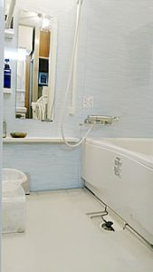 新しい浴室でお掃除ラクラク♪ UPしました!