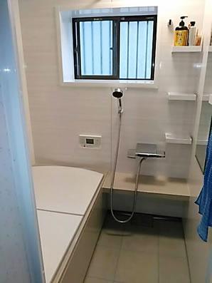 お風呂が狭くなるのはイヤ!水廻りリフォーム UPしました!