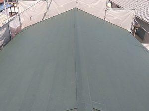 「和瓦を軽くて丈夫な金属屋根に」をUPしました。