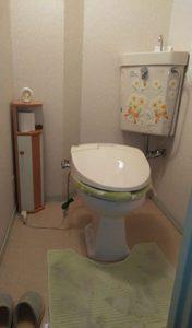 「手洗い付きトイレをリニューアル」をUPしました