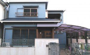 スーパーガルテクトで屋根カバー工事 外壁塗装/ス-パ-セランフレックス