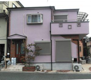 雨染み・クラックにさようなら、屋根・外壁塗装/ニッペ   ファインUVベスト、 ダイヤ スーパーセランフレックス
