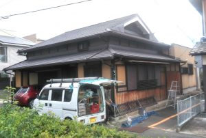 屋根の施工事例更新しました!
