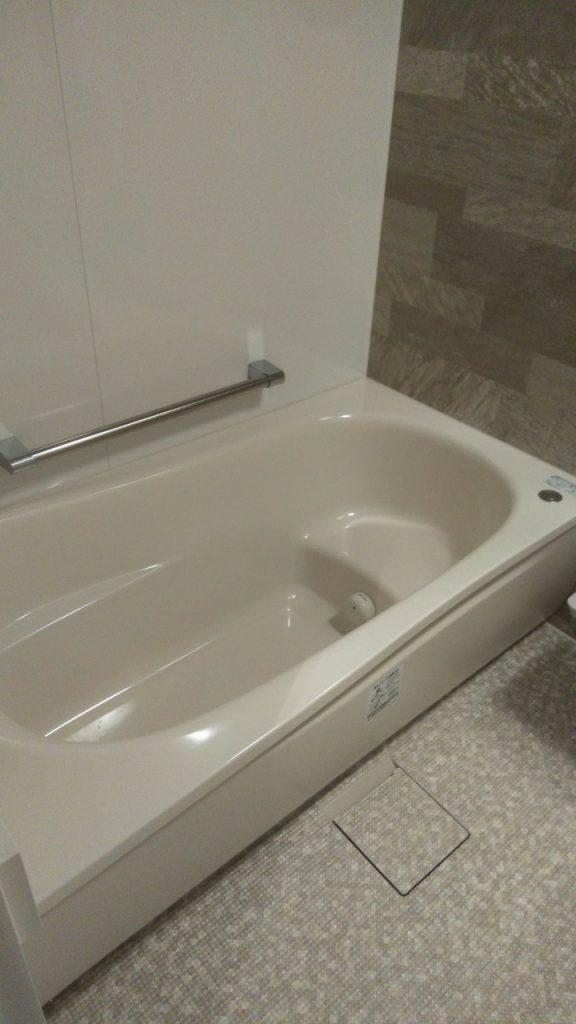 マンション浴室/TOTO ひろがるWY ほっカラリ床 で快適に