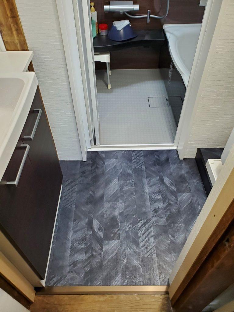 狭いタイルのお風呂を増築!広くなった浴室&脱衣室 LIXIL アライズ