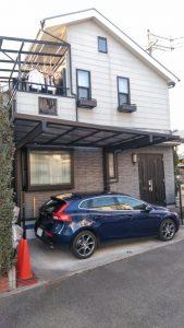 屋根外壁塗装 シックな印象に!  ファインUVベスト